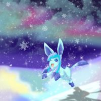Glaceon by HylianGuardians