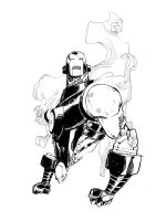 TONY STARK_commission by EricCanete