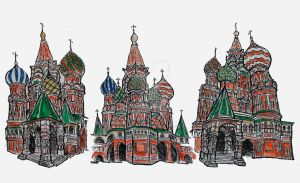 St. Basil's Cathedral by StatusDelirious