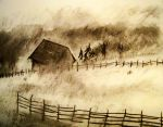 Fog Land warm-up sketch by philippeL