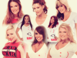 WWE Divas: RAW 1000 Collage by KamenRiderReaper