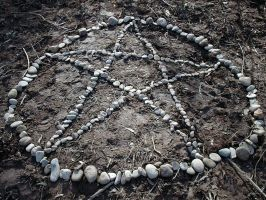 Rock Pentagram original by postaldude66