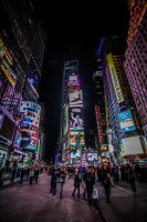 Times Square by 904PhotoPhactory