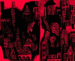 City turned into Madness by Kaza-Than93