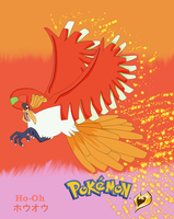 Ho-Oh - Tribute to HeartGold by xXhikari-amuXx