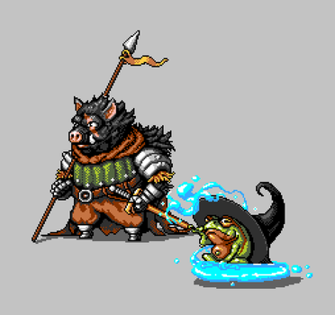 Classic RPG + Animal mashup *WIP* by supervigge