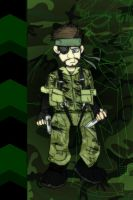 MGS - Naked Snake, Big Boss by MikeOnHighway61