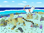 Commission- Visit to the coral garden by AeriPlumis