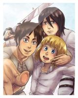 Shingeki no PhotoBooth: PUT THE SWORD DOWN by Cykranoshka