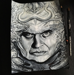 A Portrait Of An Artist. H.R. Giger. by Tribalogy