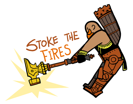 Smite - Stoke the Fires (Chibi) by Zennore