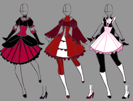 Lolita Adoptables CLOSE by SakuraKiel