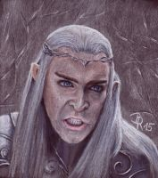Thranduil King of the Woodland Realm by LoonaLucy