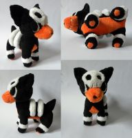 Houndour Pokemon Time Plush by Pannsie