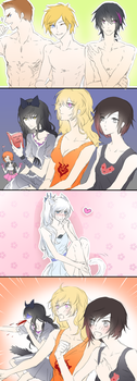 RWBY: Gaijin 4koma by IMAKINATION