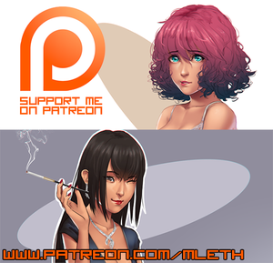 MLeth on Patreon! by MLeth