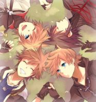 The four parts of Sora by FunimationFan123