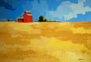 Prairie Wheat by GaryWard
