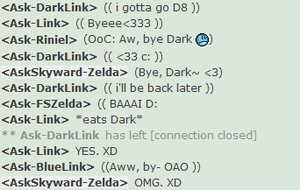 Link Eats Dark by AskSkyward-Zelda