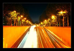 paris highway by Aviectus