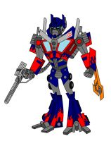 TFA Movieverse Optimus Prime by AleximusPrime