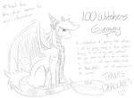 100 Watchers Giveaway by RobynTheDragon