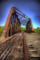 Train Bridge HDR by jnati