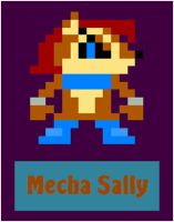 8-bit Mecha Sally by SonicOfTheHedge