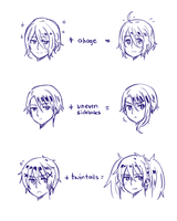 PM guide to similar hairstyles by ROSEL-D