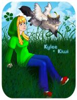 Kylee and Kiwi by RenitaO