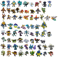 New Skylanders Swap Force by JoltikLover