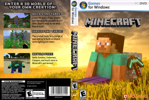 Minecraft Cover Art by casuallynoted