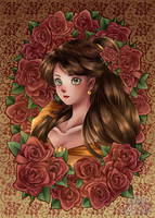 The Rose Beauty by ScruffyPoop