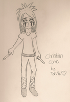 Anime Christian Coma by suterathecat