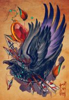 oldone by black-3G-raven