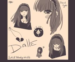 Dalle: character design by SagaTale
