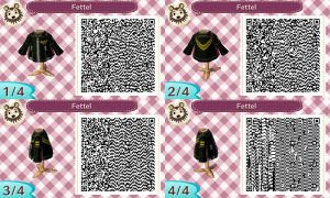 Fettel Jacket QR Code for Animal Crossing New Leaf by Stevolteon
