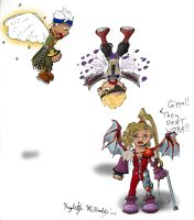 Fairies, NGB style by Kamera-chan