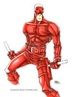 Daredevil by Sweatybuffalo