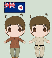 Hetalia OC- Tasmania by Karma-Maple