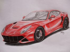 Ferrari F12 Berlinetta by MishoH
