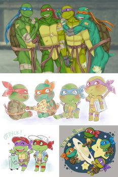 tmnt log 7 by LinART