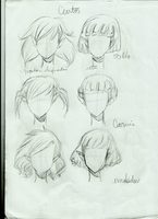 hair style 1 by Pammella