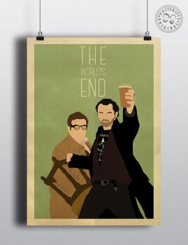 Worlds End Named Posteritty Poster by Posteritty
