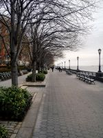 Battery Park in Early Spring by stitch52481