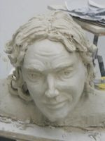 Self-Portrait Sculpture by Meloncov