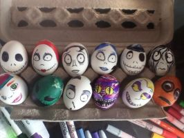 Happy Easter - Tim Burton Style by Flightless-Wingz