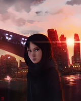the big city by FiroH