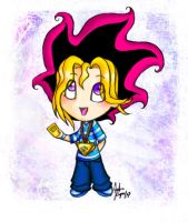 Cutest Yugi Chibi Ever Colour by yugisbitch666