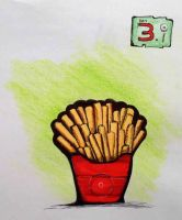 Favorite Food day 3 Drawing challegne by PhillipSupertramp